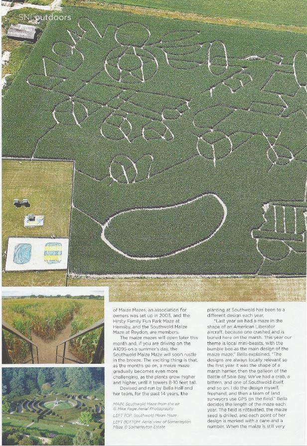 somerleyton maze